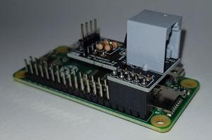 Raspberry Pi zero en P1 Connector
